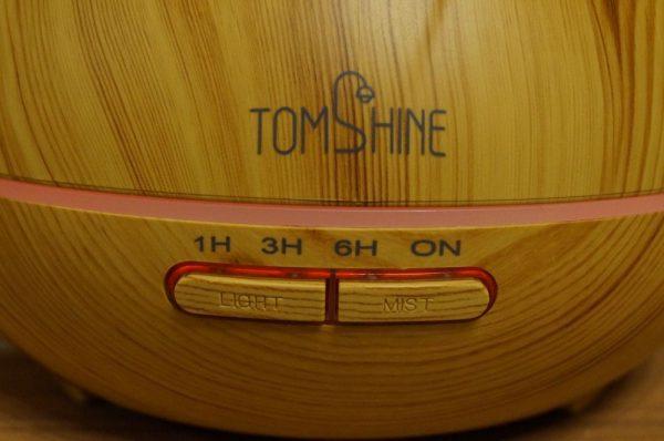 「TOMSHINE 400ml 木目調 アロマディフューザー 超音波式加湿器」レビューまとめ!