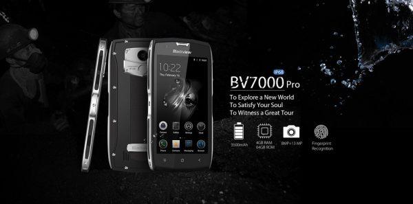 「Blackview BV7000 Pro」の特徴