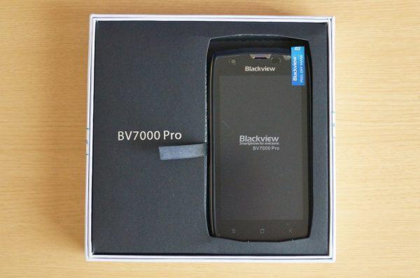 「Blackview BV7000 Pro」のセット内容