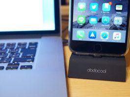 【レビュー】iPhoneユーザーにおすすめ!「dodocool MFi認証 Apple Lightning充電クレードル」は充電だけでなく、3.5mmオーディオジャック付きで音楽も楽しめますよ!