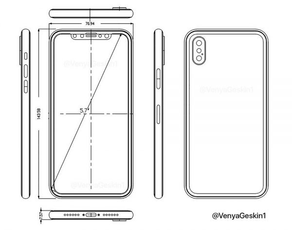 「iPhone 8」のリーク情報も続々!デザイン面はほぼ確定か。