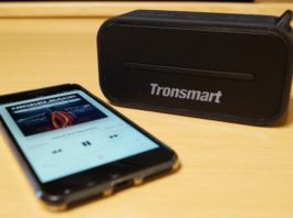 【レビュー】ボーカルが伸びやかでいい感じ!「Tronsmart ポータブル Bluetooth スピーカー T2」はコンパクトながら迫力あるサウンドが楽しめます!