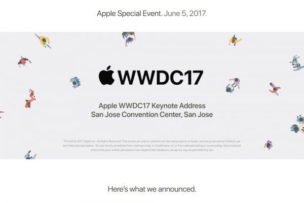 Apple「WWDC 2017」内容まとめ!「iOS 11」をはじめ、「10.5インチiPad Pro」「iMac Pro」「HomePod」などデバイスも大量発表!