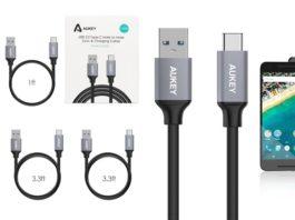【セール情報】AUKEYが「AUKEY USB-C to USB 3.0 ケーブル 5本セット」の特価セールをAmazonにて開催中!