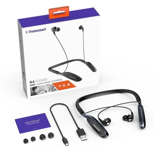 「Tronsmart S4 Bluetooth4.1 ワイヤレスイヤホン」のセット内容