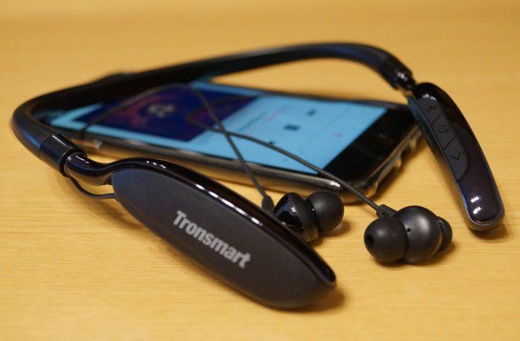 【レビュー】マイルドな音質で聴きやすい!「Tronsmart S4 Bluetooth4.1 ワイヤレスイヤホン」はネックバンドタイプ&ノイズキャンセリング搭載のコスパに優れたBluetoothイヤホン!