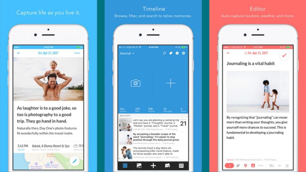 管理人も愛用中の人気日記アプリ「Day One」が「今週のApp」として無料配信中!これは貰っとこ!