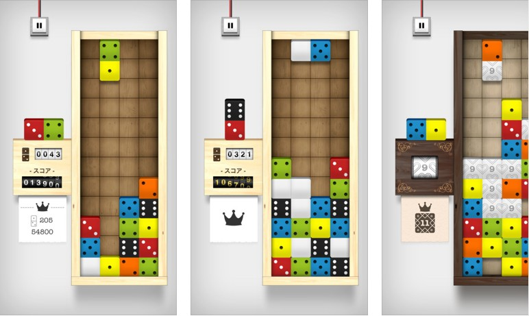 Appleが「今週のApp」としてパズルゲーム「Domino Drop」を無料配信中!