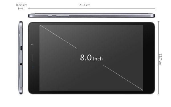 「CUBE Free Young X5」は手ごろな価格とバランスの良いスペックが魅力的な8インチタブレット!
