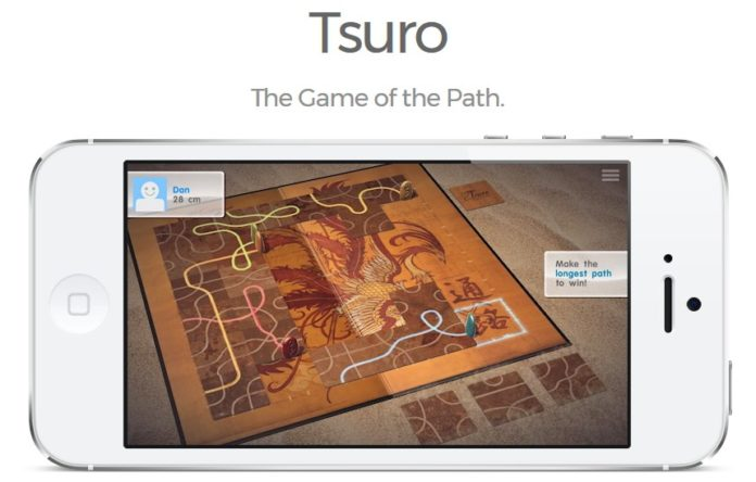 これはなかなか面白い!Appleが「今週のApp」としてパズルゲーム「通路 (Tsuro)」を無料配信中!