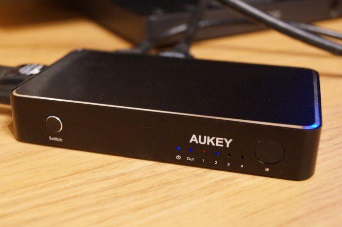 「AUKEY HDMI 切替器 4台用 HA-H14」レビューまとめ!
