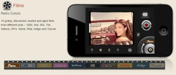 Appleが「今週のApp」として、レトロ調のムービーを撮影できるカメラアプリ「8ミリカメラ」を無料配信中!