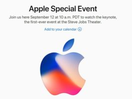 Apple スペシャルイベント