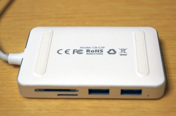 「AUKEY マルチポート USB-Cハブ CB-C59」レビューまとめ!