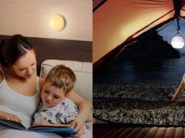 【レビュー】小さくて軽くて輝度十分!「AUKEY LEDナイトライト/アウトドアライト LT-ST23」は7色に切り替え可能&IP65の防水防塵機能搭載で様々なシーンで活躍しますよ!