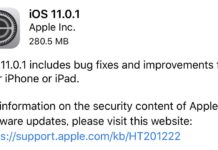 iOS 11.0.1 が配信開始!Microsoft系メールが送受信できない不具合などを解消!