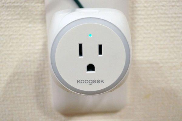 「Koogeek スマートコンセント P2」の使い方/初期設定手順解説