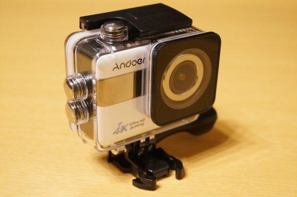「Andoer 4K WiFi アクションカメラ」レビューまとめ!