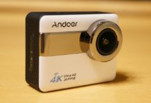 【レビュー】付属品が豊富!「Andoer 4K WiFi スポーツカメラ アクションカメラ」はタッチスクリーン搭載で手軽に使える便利なアクションカムですよ!