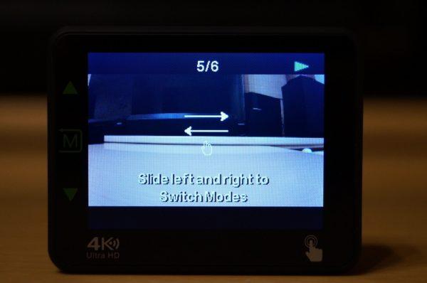 「Andoer 4K WiFi アクションカメラ」の基本的な使い方