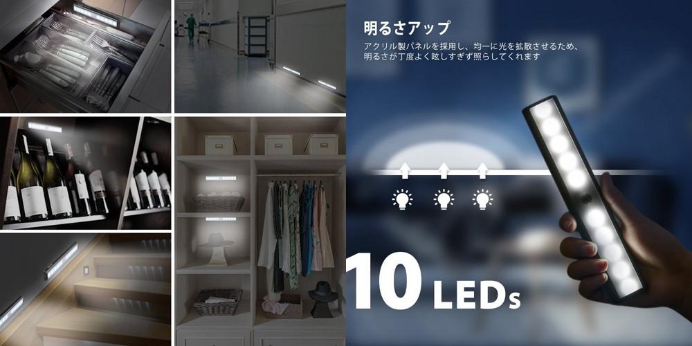 「AVANTEK LEDセンサーライト LE-020」レビューまとめ!