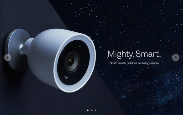 Google傘下の会社「Nest」のスマートセキュリティカメラが気になる!