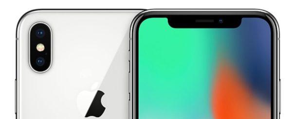 iPhone X シルバーモデル