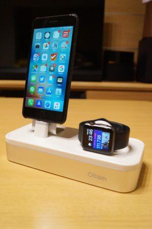 「Oittm Apple Watch/iPhone/iPad対応 多機能充電スタンド」レビュー!