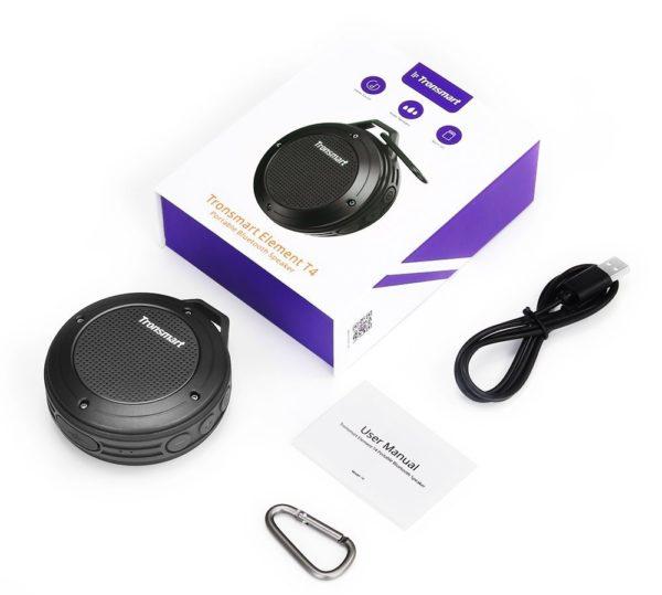 「Tronsmart Bluetooth スピーカー T4」のセット内容