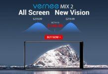 これ良さそう!GearBestがベゼルレススマホ「Vernee Mix 2」の新規独占発売を記念して特価セールを開催中!