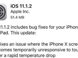 「iOS 11.1.2」が配信開始!iPhone Xが低温下で反応しなくなる不具合などを修正!