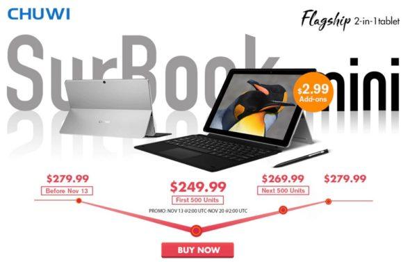 SurBook mini セールページ|GearBest