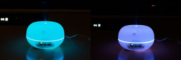 「dodocool 超音波式加湿器 300ml 7色LEDライト付き DA54」レビューまとめ!