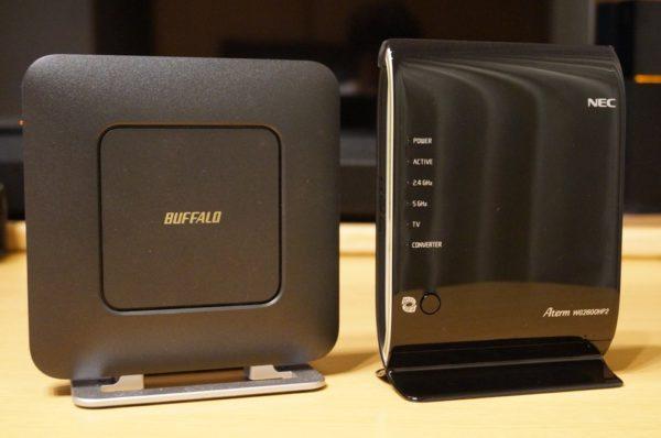 管理人はどうもBuffalo製の無線LANルータと相性が悪いらしい。