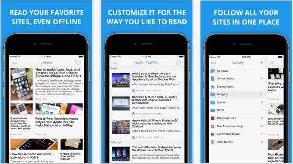 iPhone X:「Reeder 3」の代替RSSリーダーアプリなら「Newsify」がおすすめ!