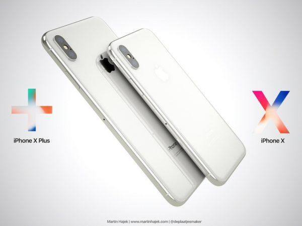 2018年は6.5インチの「iPhone X Plus」を含む3機種構成?