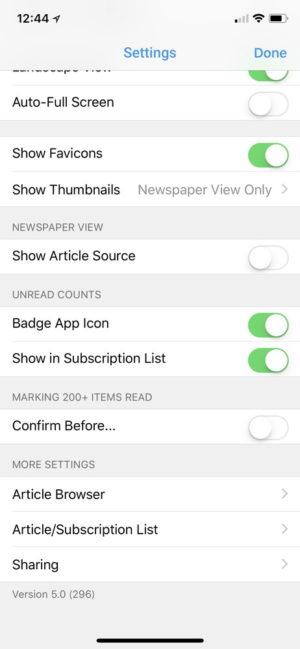 iPhone X:「Reeder 3」の代替無料RSSリーダーアプリなら「Newsify」がおすすめ!
