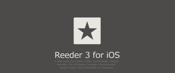RSSリーダーアプリ「Reeder 3」がiPhone Xに対応!やっぱり使いやすい!