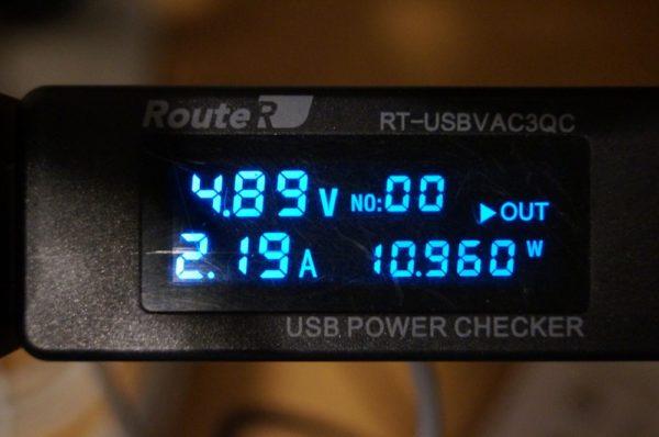 「Tronsmart Prime 10000 モバイルバッテリー PB10L」への充電性能検証