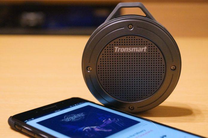 【レビュー】これはいいぞ!「Tronsmart Bluetooth スピーカー T4」はコンパクトで音質良好!防水機能付きでコスパも良い!文句なし!