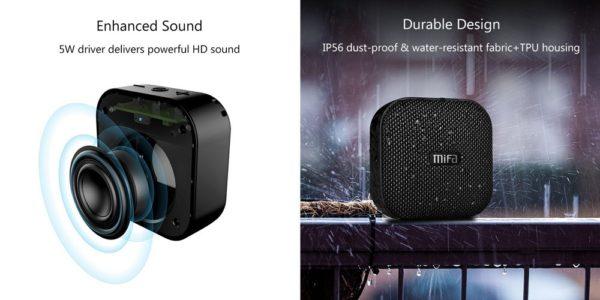 「MIFA Bluetooth ポータブルスピーカー A1」の特徴/仕様