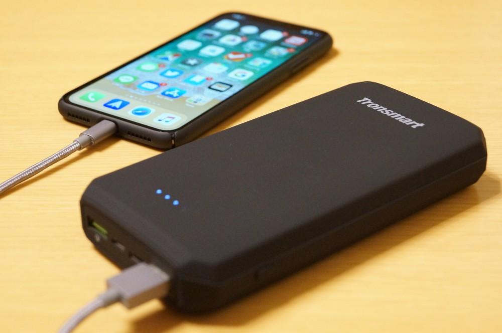 【レビュー】現時点でほぼ最強!「Tronsmart Edge 20000mAh モバイルバッテリー PBT20+」は大容量&QC 3.0&USB-C入出力に対応した最新スペックのモバイルバッテリー!