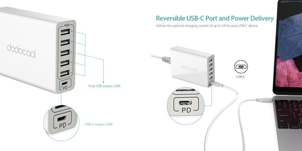 dodocoolの最新PD対応USB急速充電器が30%オフなど!Amazonで使える割引クーポンを頂いたのでご紹介します!