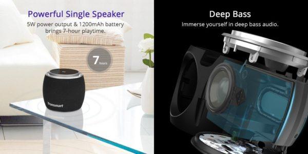 「Tronsmart Jazz mini Bluetooth スピーカー」の特徴/仕様