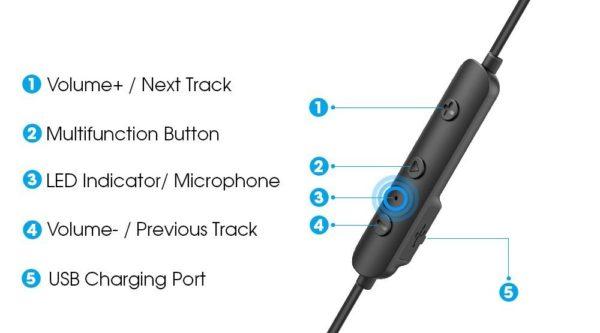 「Dudios Zeus Bluetooth イヤホン」の使い方/Bluetoothペアリング方法解説