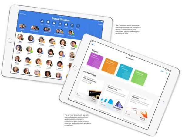 教育現場向けのアプリなどが充実!宿題もiPadで簡単にできるように!?