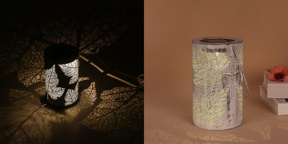 【レビュー】庭の雰囲気作りや防犯にも!「Tomshine LED ソーラーライト」はほのかな明るさと楓の葉デザインがいい感じ!