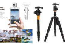 【セール情報】人気の360°カメラ「Insta360 Nano」が40%オフ!Andoerの撮影機材が激安!Amazonで使える割引クーポンを頂いたのでご紹介します!
