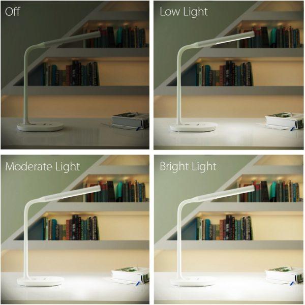 「AUKEY LEDデスクライトLT-T11」の特徴