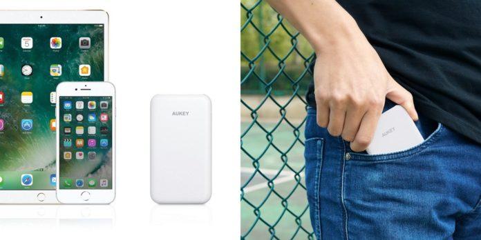 【300個限定】AUKEYが「5000mAhモバイルバッテリー PB-N59」を4月25日まで38%オフの999円にて特価セール中!クーポンを頂いたのでご紹介します!